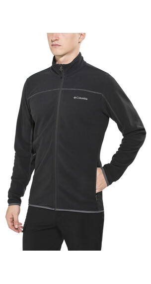 Columbia Trails Edge - Veste Homme - Fleece noir